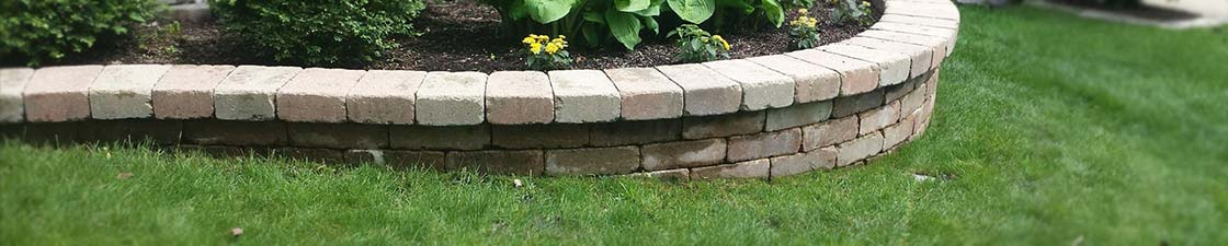 Photo of brick pavers that have been cleaned and restored