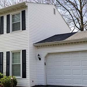Soft washed siding and mildew removal